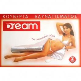 Ηλεκτρική Κουβέρτα Αδυνατίσματος Dream Saouna Μονή 75 x 155 cm + ΔΩΡΟ Κρέμα Σύσφιξης